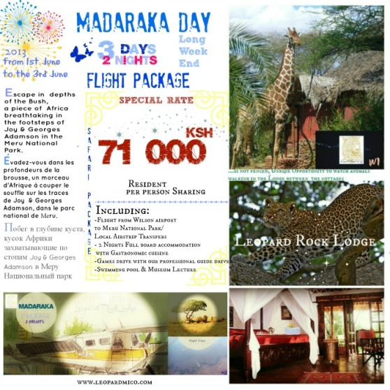 MADARAKA DAY 01ST TO 3RD JUNE 2013